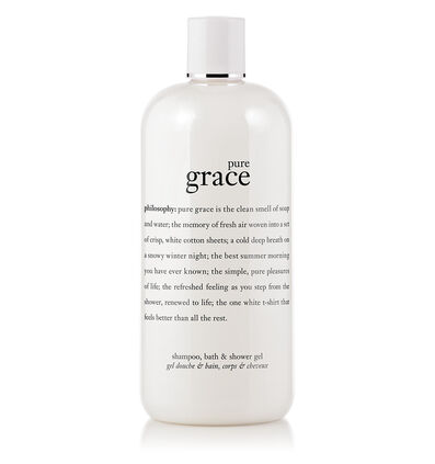 philosophy, pure grace 16oz shower gel