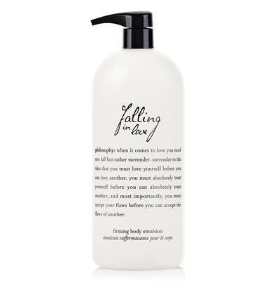 philosophy, falling in love 32 oz body lotion