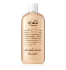 pure grace nude rose shampoo, bath & shower gel