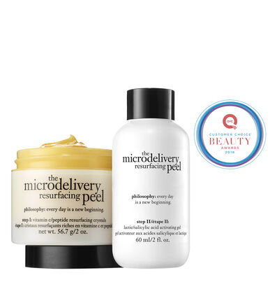 philosophy, microdelivery resurfacing peel