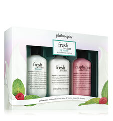 philosophy, fresh cream shower gel set