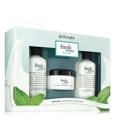 philosophy, fresh cream & mint trio