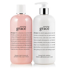 philosophy, amazing grace bath duo