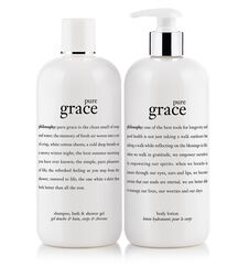 philosophy, pure grace bath duo