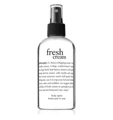philosophy, fresh cream body spritz