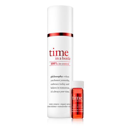 philosophy, time in a bottle daily age-defying serum