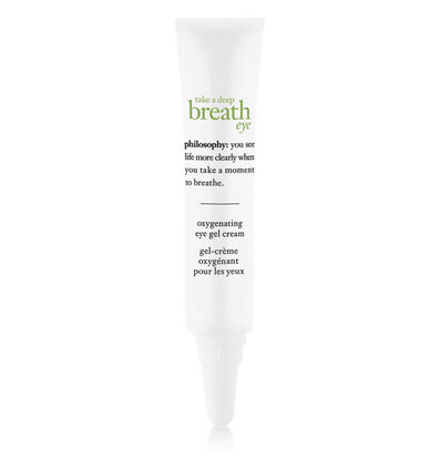 philosophy, take a deep breath oxygenating eye gel cream