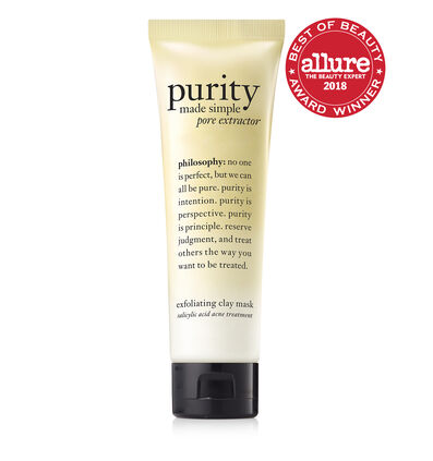 philosophy, purity made simple pore extractor