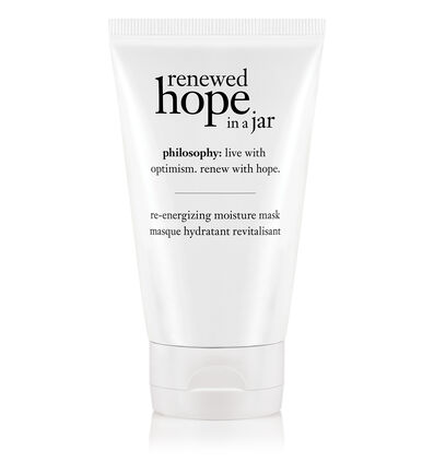 philosophy, renewed hope in a jar re-energizing moisture mask