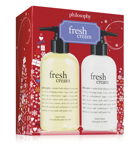 fresh cream hand care set