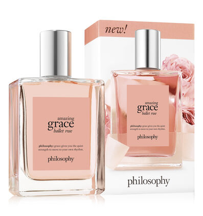 philosophy, amazing grace ballet rose spray fragrance, with box