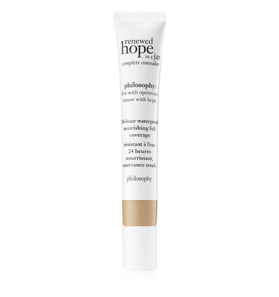 philosophy, renewed hope in a jar full coverage concealer shade 5.5 beige