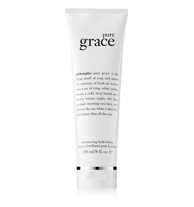 philosophy, pure grace shimmering body lotion
