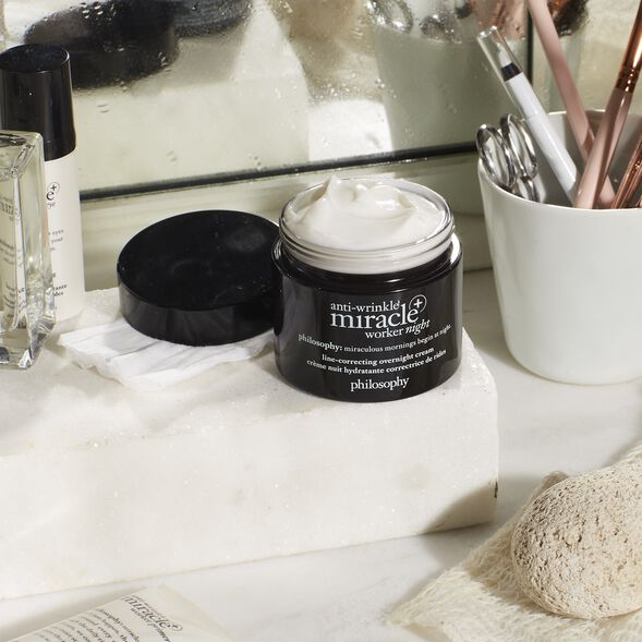 philosophy, anti-wrinkle miracle worker night+