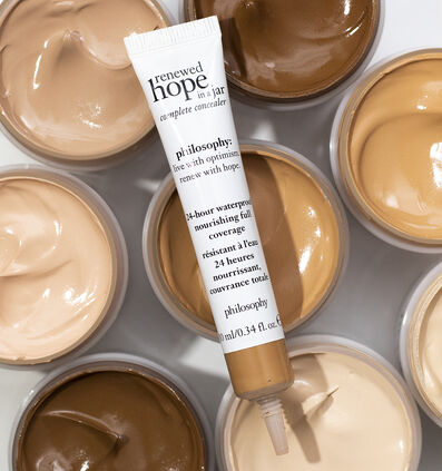 philosophy, renewed hope in a jar full coverage concealer