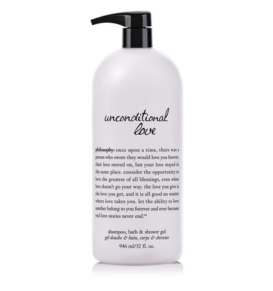 philosophy, unconditional love 32 oz. shower gel
