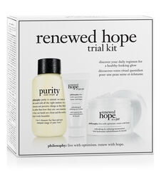 philosophy, renewed hope trial kit