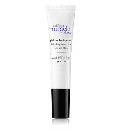 philosophy, uplifting miracle worker lift & firm eye cream
