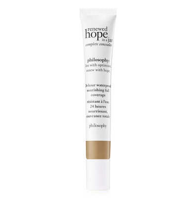 philosophy, renewed hope in a jar full coverage concealer shade 6.5 tan