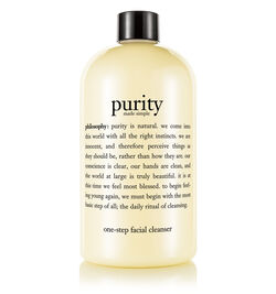 one-step facial cleanser,purity made simple