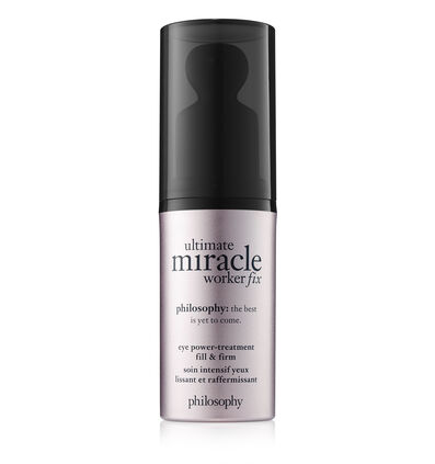 philosophy, ultimate miracle worker fix eye fill & firm treatment