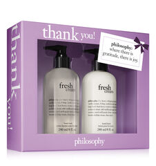 thank you! fresh cream hand set