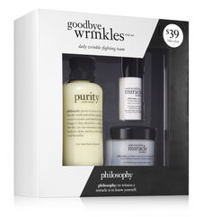 philosophy, goodbye wrinkles trial set