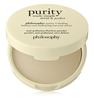 philosophy, purity made simple anti-pollution flawless face powder