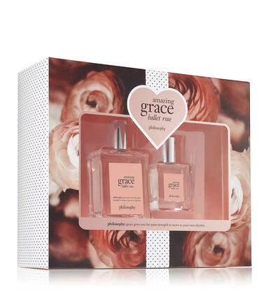 philosophy, amazing grace ballet rose 2-piece fragrance set