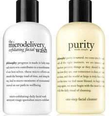 best cleanser duo purity made simple cleanser & microdelivery exfoliating facial wash