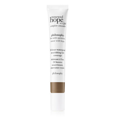 philosophy, renewed hope in a jar full coverage concealer shade 9.5 cocoa