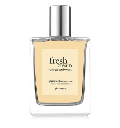 philosophy, fresh cream warm cashmere spray fragrance, 2oz