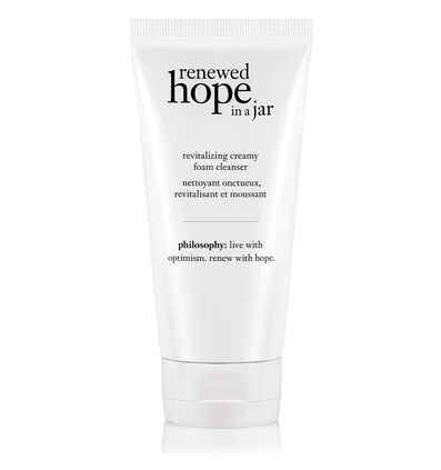 philosophy, renewed hope in a jar foaming face wash