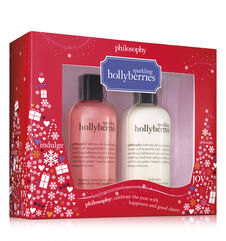 philosophy, sparkling hollyberries duo