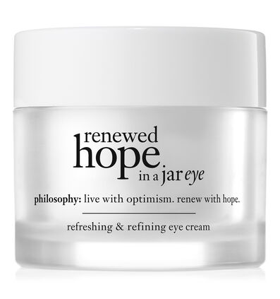 philosophy, renewed hope in a jar refreshing & refining eye cream