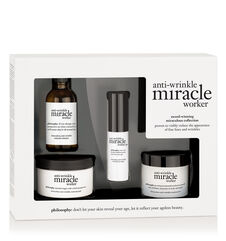 philosophy, anti-wrinkle miracle worker award-winning miraculous collection