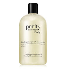 purity made simple body 3-in-1 shower, bath & shave gel