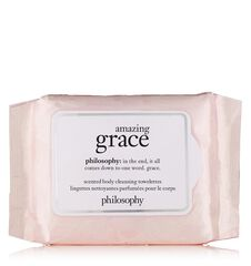 amazing grace scented body cleansing wipes