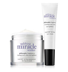 philosophy, uplifting miracle worker face and eye duo