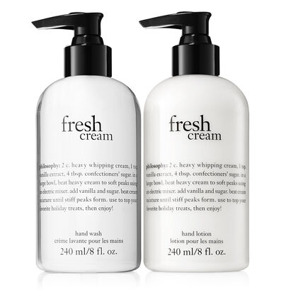 philosophy, thank you set fresh cream duo