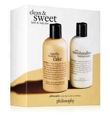 philosophy, clean & sweet
