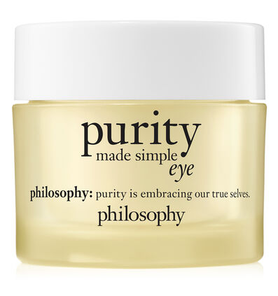 philosophy, purity made simple eye gel