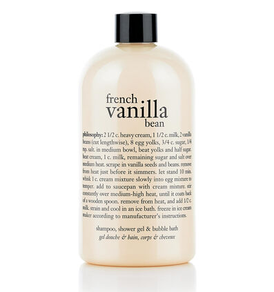 philosophy, french vanilla bean shower gel