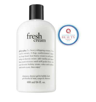 philosophy, fresh cream 16 oz. shower gel
