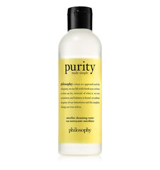 purity made simple micellar cleansing water