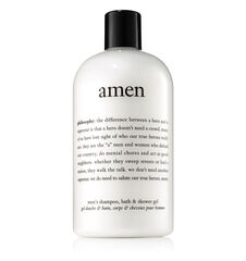 philosophy, amen shower gel, 16oz