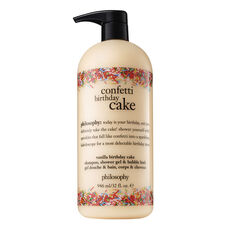 philosophy, confetti birthday cake shower gel