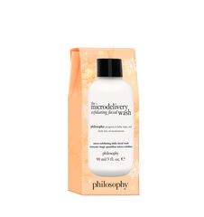 the microdelivery holiday stocking stuffer daily exfoliating face wash