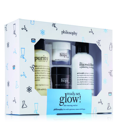 philosophy, ready, set, glow trial set