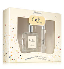 philosophy, fresh cream edt set